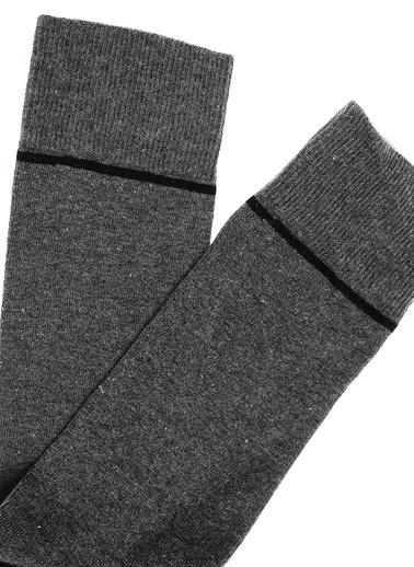 Pixter&Bro 3'lü Çorap Gri